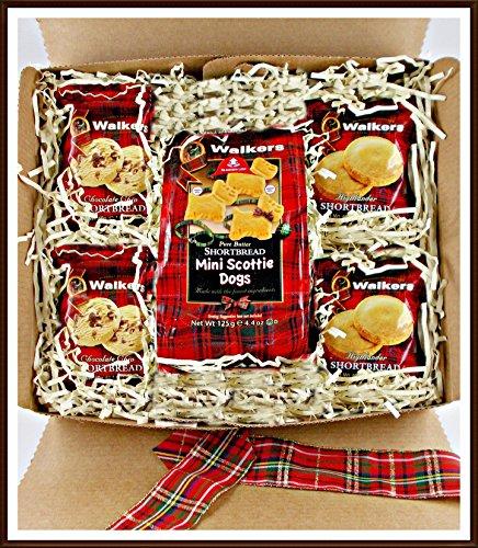 Walker Set (Geschenk Set Walkers Shortbread Traditionelles schottisches Buttergebäck 3 beliebte Sorten - 5 Teile im Geschenk Karton)