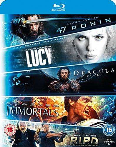 47 Ronin/R.I.P.D./Immortals/Dracula Untold/Lucy [Edizione: Regno Unito] [Reino Unido] [Blu-ray] 61 nxrmoTmL