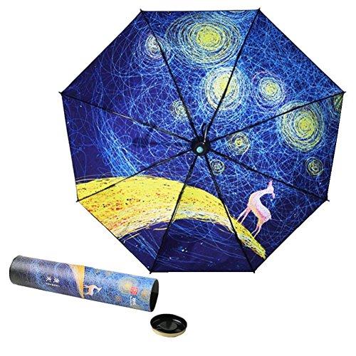 Uomo & Donna Con L'ombrello Maniglia Led irregolare (Stile 2)