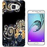 452 - doctor who tardis van gogh canvas Design Samsung Galaxy A5 -(2016 Modèle) Fashion Trend Protecteur Coque Gel Rubber Silicone protection Case Coque