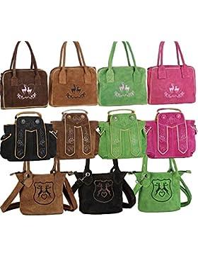 Dirndltasche Handtasche Trachten Tasche aus echtem Leder