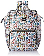 Amazon Brand - Solimo Diaper Backpack, Doodle print