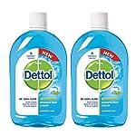 Dettol Disinfectant Liquid (Menthol Cool) - 500 ml (Pack of 2)