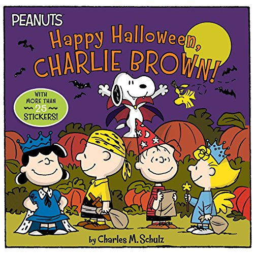 Happy Halloween, Charlie Brown! [With Stickers] (Peanuts)
