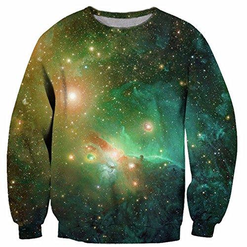 WHLWY Langärmelige Pullover 3D Männlichen Fashion Pullover Scheinwerfer Setzen Pullover 4Xl Kapuzenpullover (Herbst-scheinwerfer)