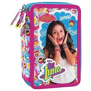 Derform – Caja de lápiz con tres cámaras de soja, Soy Luna