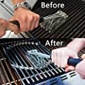 Barbecue Brushes - Kamhairaiog Steel Wire BBQ Rack Cleaning Brush Rugged Grill Cleaning Brush Barbecue Grill Brush BBQ Grill Brush Effortless Cleanin BBQ Tools
