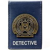 DC Comics Batman Gotham City Detective Badge Blu portafoglio
