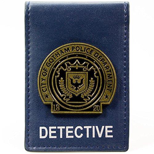 DC Comics Batman Gotham City Detective Abzeichen Blau Portemonnaie Geldbörse