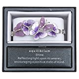 Equilibrium Armband–Lila Schmetterlinge