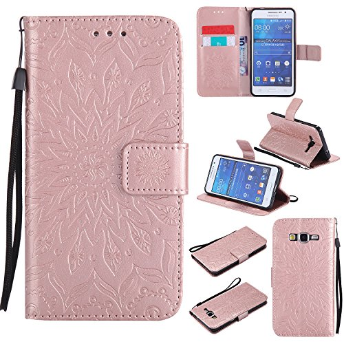 Cozy Galaxy Wallet Galaxy Prime SM Brieftasche Samsung H眉lle G531F G530 G530 G531F Tasche Grand Samsung H眉lle H眉lle Grand Prime Schutzh眉lle Hut Leder zanfARwI