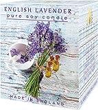 English Luxuriöse Soja-Kerze, Lavendelduft, Soja-Kerze, Weihnachtsgeschenk, Geburtstag, Valentinstag