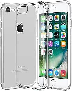 iPhone 7 Coque Kapoo Coque iPhone 7 Housse Antichoc Transparente Souple Coque