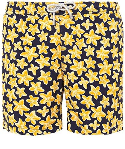 Bluemint-Hombres-la-longitud-media-Arturo-lirio-marino-swim-shorts-Multi-Coloreada-S