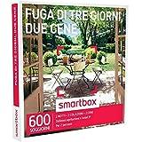 Smartbox - Fuga Di Tre Giorni, Due Cene - 600 Soggiorni In Agriturismi e Hotel 3*, Cofanetto Regalo Gastronomici