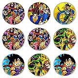 12 Stück Muffinaufleger Muffinfoto Aufleger Foto Bild Dragonball (10) rund ca. 6 cm *NEU*OVP*