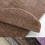 casa pura Teppich Läufer Uni beige | Qualitätsprodukt aus Deutschland | GUT Siegel | kombinierbar mit Stufenmatten | viele Größen (300 x 400cm)