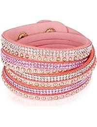 Rafaela Donata - Bracelet enroulé - Velours résine, bracelet résine - 60917113