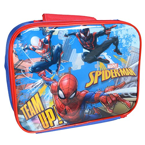 Catchy Brands Disney / TV Character 'Back to School' Insulated Lunch / Cool  Bag - Spiderman