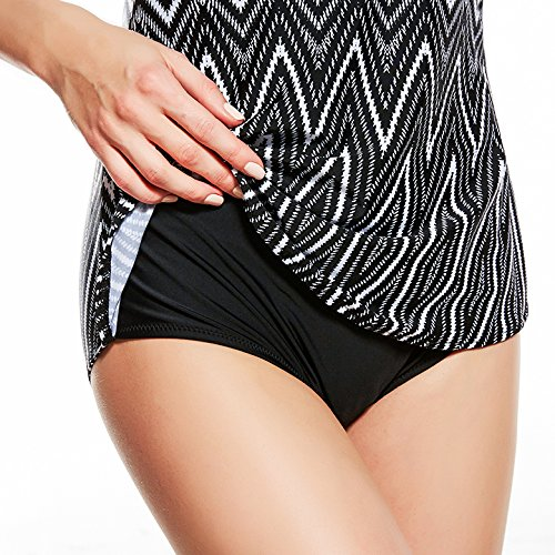 0367a02a20 Cokar One Piece Tankini Swimsuits for Womens Swimdress Tummy Control  Swimwear ...