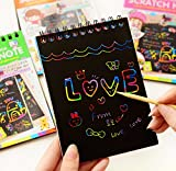 #4: Colorful Scratch Art Activity Book for Creative Kids of All Ages (pack of 2)