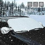 AUTSCA pare-brise couverture pare-brise voiture pare-brise pare-neige, couverture de gel, pare-brise couverture anti-givre, glace poussière rayon de soleil, imperméable à l'eau