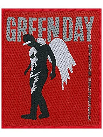 Green Day Demolicious - Green Day Patch Wings 10 x 10