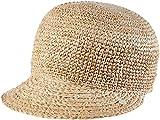 ESPRIT Damen Schirmmütze 046EA1P007-aus Stroh