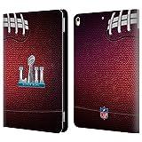 Geschenkideen Offizielle NFL Fussball 2018 Super Bowl LII Brieftasche Handyhülle aus Leder für Apple iPad Pro 10.5 (2017)