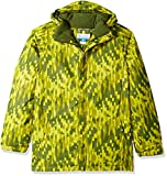 Columbia giacca impermeabile con punta di torsione, Ragazzi, Ginkgo Brushed Strokes