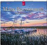 MARK BRANDENBURG - Märkisches Licht: Original Stürtz-Kalender 2018 - Mittelformat-Kalender 33 x 31 cm -