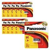 Panasonic-Batterie Lithium 3 V (1PaCK CR2 Lot de 10)-Puissant des Piles à Usage Unique