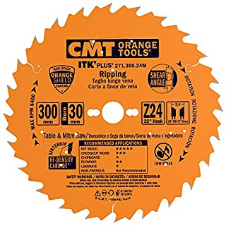 CMT - 271.300.24 m - Scie circulaire (Ultra ITK) HW 300 x 2.6/1.8 x 30 Z24 ATB + S
