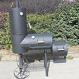 Der Syntrox Germany XXL Smoker Barbecue BBQ Grill – schicker Smoker mit Räucherturm