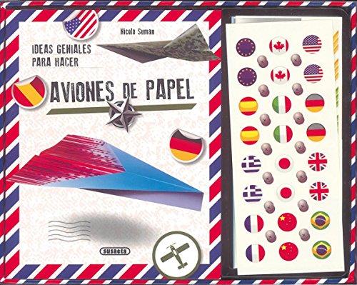 Ideas geniales para hacer aviones de papel