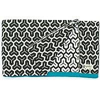 Buh!-Coperta in puro cotone lavorato A maglia, design B And W A.Marina Collection, 80 X 100 Cm)
