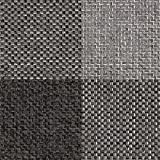 Raumausstatter.de Möbelstoff Rio KARO 906 Karomuster grau