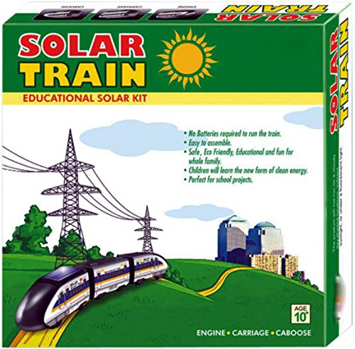 Bonkerz Educational Solar Train Toy Kit  available at amazon for Rs.349