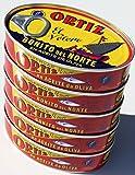 Ortiz Bonito del Norte weißer Thunfisch in Olivenöl 112 gr. (Packung mit 5)