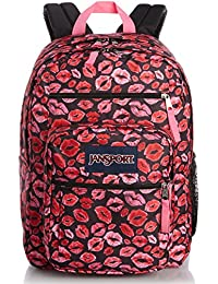 JanSport Big Student Classics Series Backpack - BLACK KISS ME QUICK