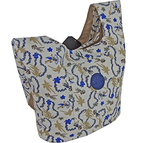 CONVERSE Umhängetasche SLING TOTE Schultertasche Handtasche Damentasche Hawaiian Print (Handtasche Patch Sling)