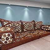 Sofá de piso Sofá de esquina Cojines para asientos en el