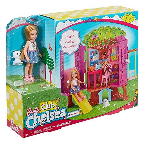 Barbie Chelsea Treehouse Playset, Multi Color