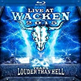 Live at Wacken 2015 - 26 Years louder than Hell [2Blu-ray+2CD]