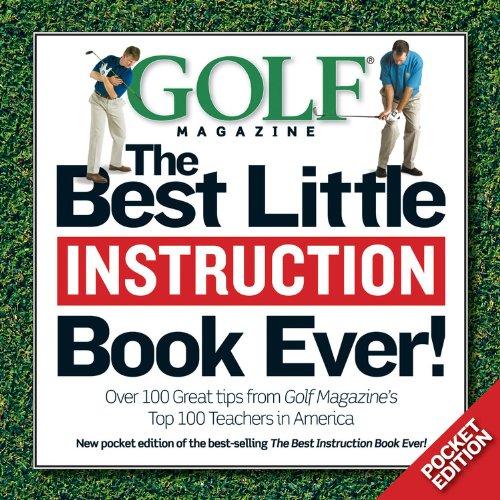 GOLF The Best Little Instruction Book Ever!: Pocket Edition