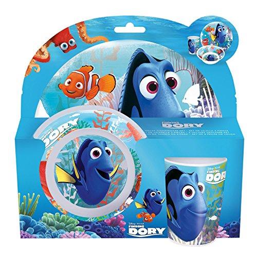 P: os 25320Disney Pixar findet Dorie–Set de desayuno (Plato, Cuenco y taza, 3piezas