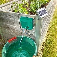 Sistema de riego solar WaterDrops, juego completo para riego de plantas con 15aspersores Esotec 101100