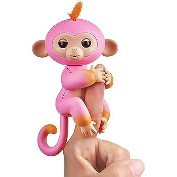Fingerlings Hugs Bella Friendly Interactive Plush Monkey Toy