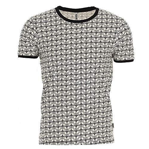Moschino - uomo t-shirt 1a1910-8104 bianco - l