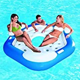 Best Bestway Inflatable Rafts - Bestway 3 Person Inflatable Floating Water Island Lounge Review